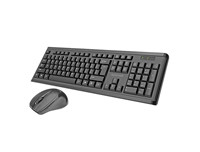 Promate Procombo 3 - Slim Ergonomic Wireless Keyboard & Mouse Combo