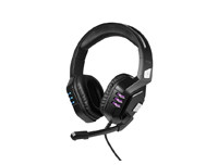 Promate Python - High Performance Wired Gaming Headset With Extended Microphone