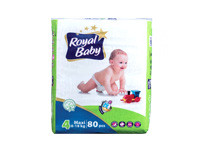 Royal Baby Fragranced Diapers Large 80pcs