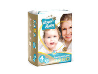 Royal Baby Premium Care Diapers Large 80