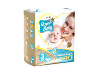 Royal Baby Premium Care Diapers Medium 90pcs