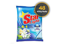 Starlight Detergent Powder Blue 400g 48 Pack