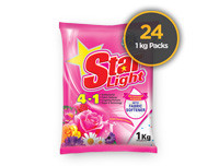 Starlight Detergent Powder Floral 1kg  x 24 Pack