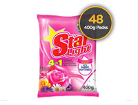 Starlight Detergent Powder Floral 400g 48 Pack