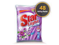 Starlight Detergent Powder Lavender 400g 48 Pack