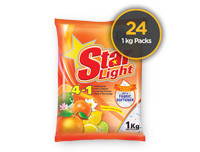 Starlight Detergent Powder Orange 1kg 24 Pack