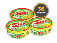 Starlight Dish Wash 500g 36 Pack