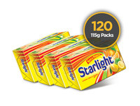Starlight Laundry Soap Yellow 115g 120 Pack