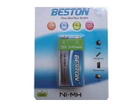 "Beston NI-MH Rechargeable Battery 250ma ""9V"" Each Pc Price"