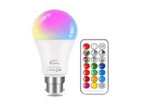 LED Colour Changing E27 Bulb 12w
