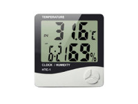 Temperature & Humidity Meter & Clock