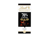 Lindt Excellence 70 Cocoa Dark Chocolate 100g