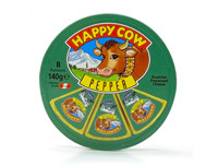 Happy Cow Cheese Pepper Round Box 140 G