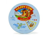 Happy Cow Cheese Low Fat Round Box 140 G