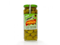 Coopoliva  Stuffed Green Olives 345g