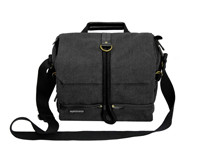 PROMATE XPLORE-S  CONTEMPORARY DSLR CAMERA BAG WITH ADJUSTABLE STORAGE, WATER-RESISTANT COVER AND SHOULDER STRAP