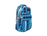 Elephant designed Blue School Bag