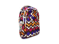 Zig Zag Brown School Bag