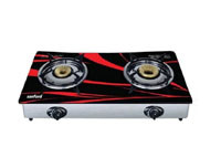 Sanford Glass Top 2 Burner Gas Cooker