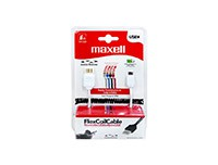 Maxell Flexicoil Micro USB Cable