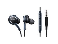 Black Earphones Tuned by AKG