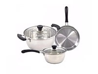 Ruiao 3 PCS Stainless Steel Cookware Set