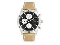 TITAN Black Dial Chronograph Men's Watch - 90105KL01