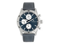 TITAN Blue Dial Chronograph Men's Watch -90105KL02