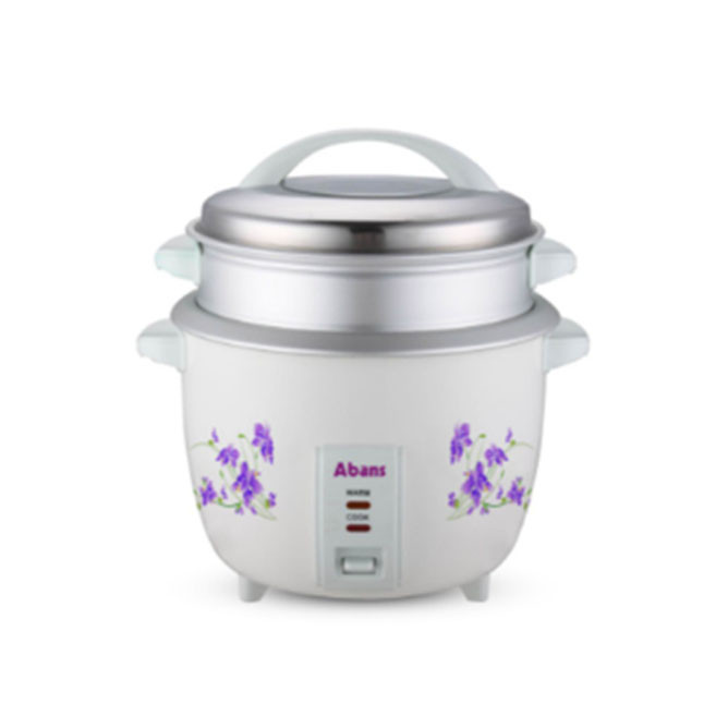 Abans 1.5L Rice Cooker with Steamer AB-15TR5: Best Abans Home & Kitchen Appliances for Sale | Best Price in Sri Lanka 2021 1