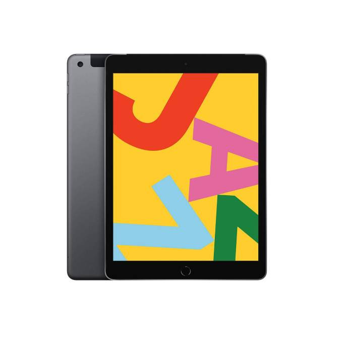 """Apple ipad 10.2"""" Wi-Fi + Cellular (128GB) -  Space Grey (2019) MW6E2ZP/A: Best Apple Tablets for Sale 