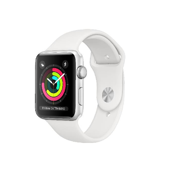 Apple Watch Series 3 -42mm Silver Aluminum Case with White Sport Band: Best Apple Smart Devices for Sale | Best Price in Sri Lanka 2020 2