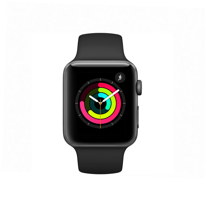 Apple Watch Series 3 -38mm Space Grey Aluminium Case with Black Sport Band: Best Apple Smart Devices for Sale | Best Price in Sri Lanka 2020 1