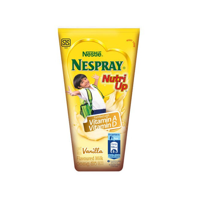 Nespray Nutri-Up Vanilla 180ml: Best Nestle Daily Essential for Sale | Best Price in Sri Lanka 2021 1