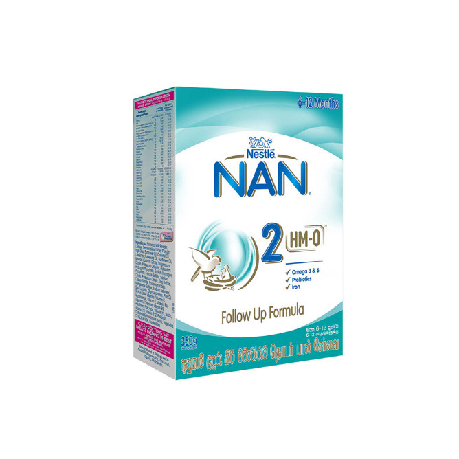Nestle NAN 2 HMO Follow Up Formula with Iron - 6-12 Months, 350g: Best Nestle Other Brands for Sale | Best Price in Sri Lanka 2020 1