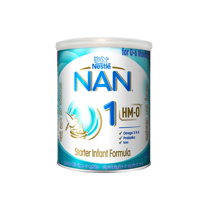 Nestle NAN HMO 1 Starter Infant Formula with Iron Birth to 6 Months 400g: Best Other Daily Essential for Sale | Best Price in Sri Lanka 2020 1