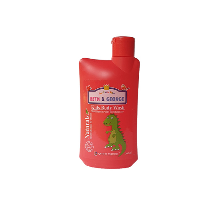 Kate's Choice Beth & George Kids Body Wash (Berries & Pomegranate): Best Other Baby & Kids for Sale | Best Price in Sri Lanka 2021 1