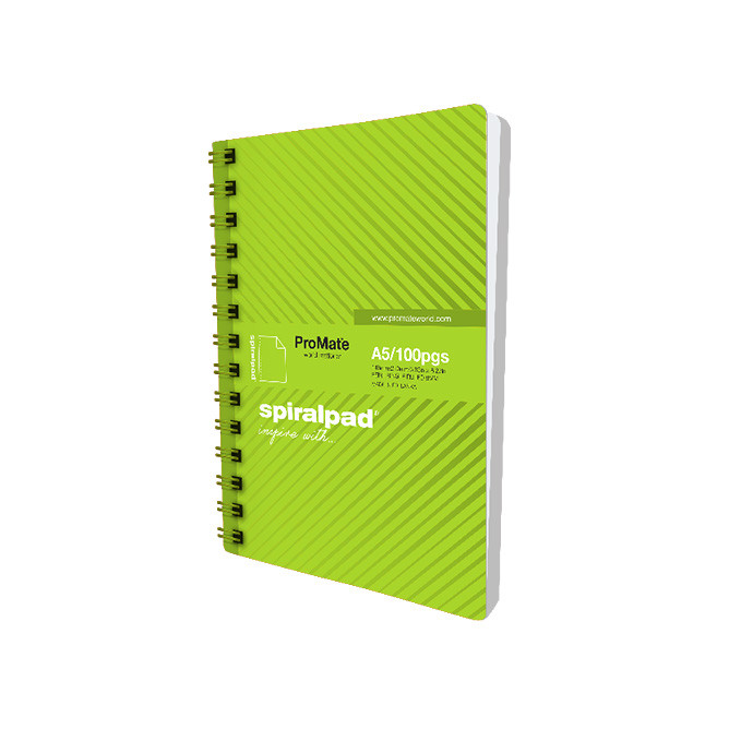ProMate A5 Flip-on Spiral Pad 100P: Best Promate Office & School Supplies for Sale | Best Price in Sri Lanka 2021 2