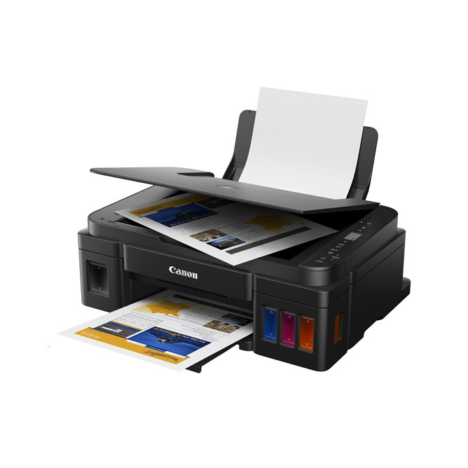 Canon PIXMA G2010 Refillable Ink Tank All-In-One Printer G2010: Best Canon Laptops & Computers for Sale | Best Price in Sri Lanka 2020 1