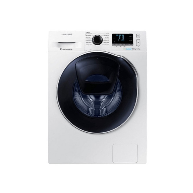 Samsung 8kg Fully Automatic Front Loading Washer & 6Kg Dryer with Eco-Bubble Technology: Best Samsung Washing Machines for Sale | Best Price in Sri Lanka 2020 1