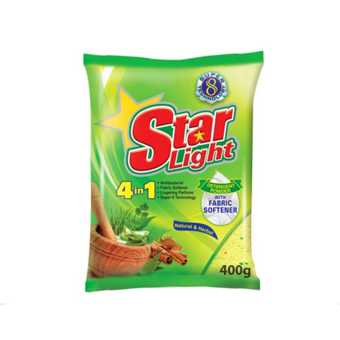 Starlight Detergent Powder Herbal 400g: Best Starlight Daily Essential for Sale | Best Price in Sri Lanka 2020 1