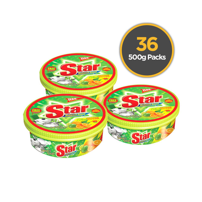 Starlight Dish Wash 500g 36 Pack: Best Starlight Daily Essential for Sale | Best Price in Sri Lanka 2020 1