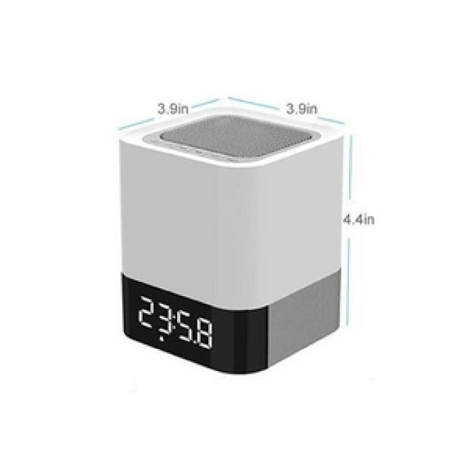 Bluetooth Speaker With Touch Lamp & Clock Dy-28: Best Other Audio & Video for Sale | Best Price in Sri Lanka 2021 1