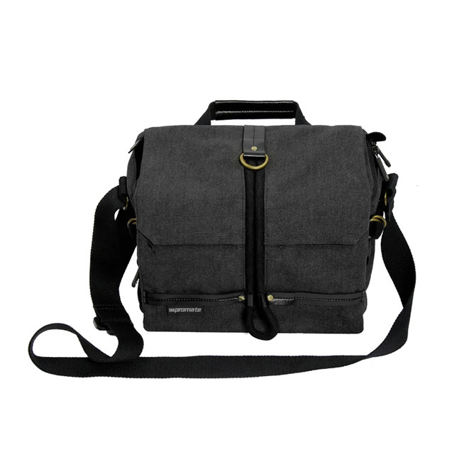 PROMATE XPLORE-S  CONTEMPORARY DSLR CAMERA BAG WITH ADJUSTABLE STORAGE, WATER-RESISTANT COVER AND SHOULDER STRAP: Best Promate Cameras for Sale | Best Price in Sri Lanka 2021 1