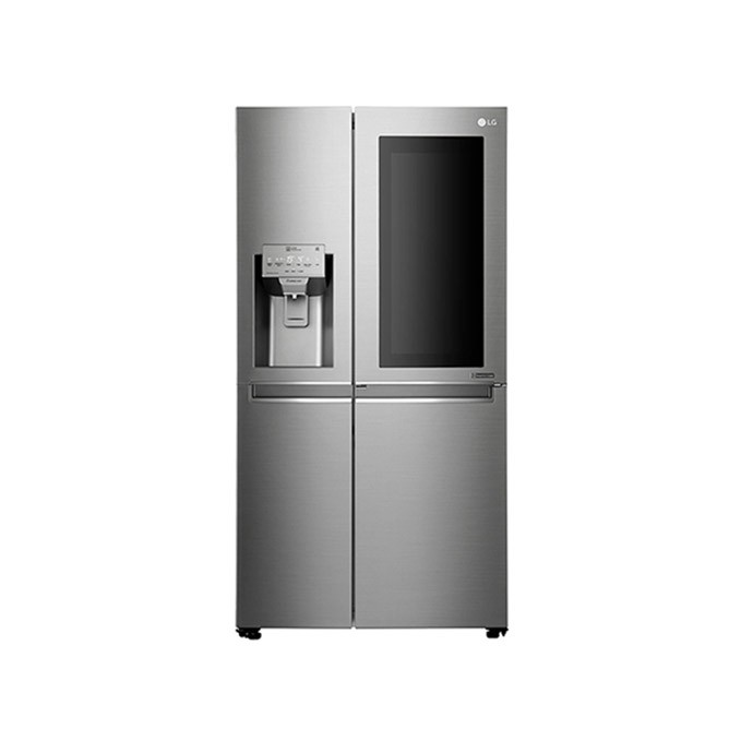 LG 668L Side by Side Refrigerator - Nobel Steel - GS-X6011NS: Best LG LG for Sale | Best Price in Sri Lanka 2020 1