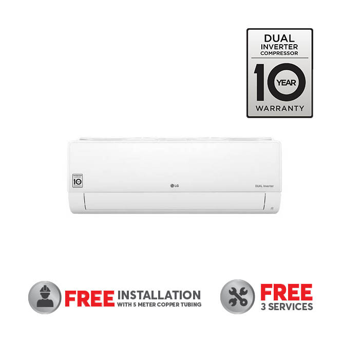 LG Air Conditioner 18000BTU Dual Cool STD Plus R32 Inverter With Wifi: Best LG A/C's & Air Coolers for Sale   Best Price in Sri Lanka 2021 1